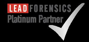 Lead Forensics Platinum Partnership Badge