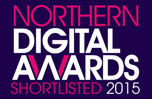 We've been shortlisted for the Northern Digital Awards