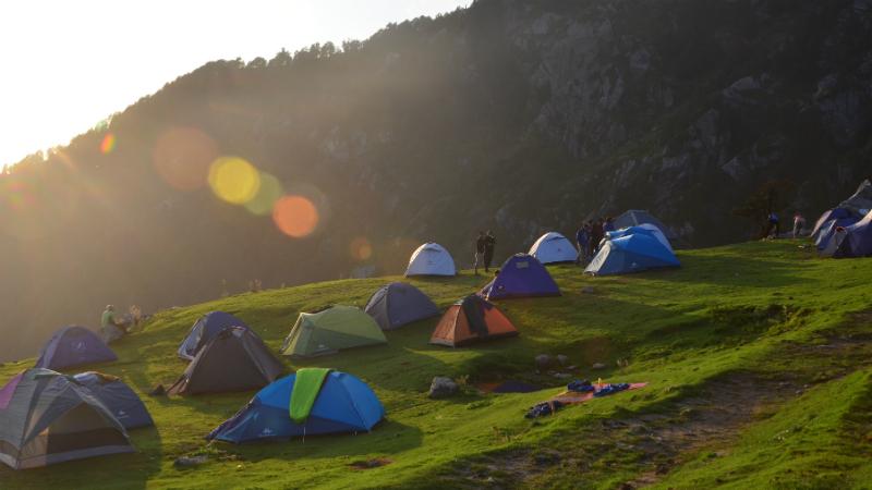 tiny campsites